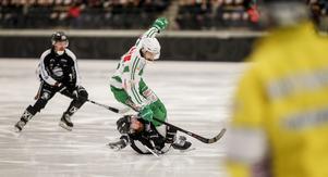 Simon Jansson gav VSK ledningen mot SAIK i den femte och avgörande kvartsfinalen.