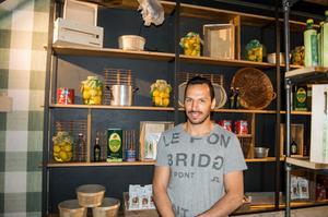Wisam Gharzoul, delägare i Vezzo, ser fram emot öppningen.