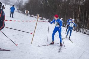 Hans Jansson (nr 27) och Lars-Åke Axlund (nr 11) kom både topp tio i 30-kilometersloppet.