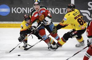 Det var då. 2008 spelade Kenneth Bergqvist, i Moratröjan, mot Niclas Lundgren och de övriga VIK-arna i kvalserien till elitserien. Nu siktar Bergqvist på att spela tillsammans med Lundgren i VIK Hockey.