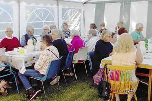 PRO Mora har haft trädgårdsfest på Åkersta och inbjuden gäst var Jon Norberg.