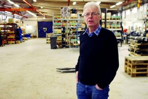 Anders Ljung från företagarföreningen i Bispgården kräver nu att politikerna i Ragunda kliver fram och berättar vem det är som styr och vilka mål de har. Foto: Filip Gustafsson
