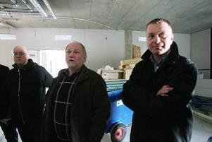 Nöjda miner hos både Ockelbogårdars vd Bo Lindblad och kommunalrådet Magnus Jonsson.