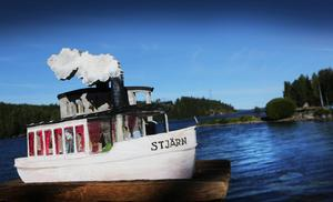 Inte Anders Åbergs lilla Stjärn, men väl rariteten Dynäs II – en bogserbåt byggd 1910 – kommer att finnas vid Svanös kaj om vattenståndet tillåter.