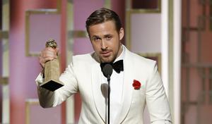 Ryan Gosling som spelar huvudrollen i den romantiska musikalkomedin