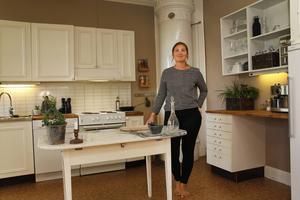 Det här är köket hemma hos Olivia Stenberg.