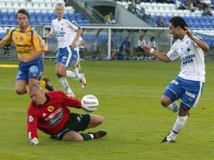 Fredrik Sundfors kämpade väl i målet men det räckte inte när resten av giffarna inte stod upp.