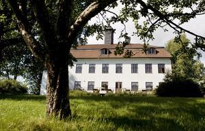 På Ludvigsberg kan kaffet avnjutas i en herrgårdsmiljö. Foto: NP/arkiv.