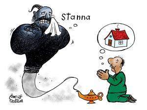 Alaa berättar själv om teckningen: