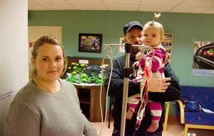 När Länstidningen träffar Alice och hennes föräldrar Anna Rikner och Danne Schwartz har hon precis fått en påfyllning med nytt blod. Nu får föräldrarna en piggare dotter i två veckor, men blodvärdet sjunker hela tiden.