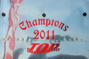 Ingen kan missa att Benny Strand vann Top doorslammercupen.