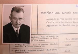 Förre SS-läkaren Hans Deuschl ville besöka släkten i Norrtälje efter kriget och skickade en visum-ansökan till svenska myndigheter.