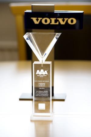 2 januari 2012 tog Gerd Persson hem utmärkelsen AAA - det högsta kreditbetyg ett aktiebolag kan få. Hon fick ta emot priset på Berns.