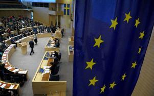 EU-parlamentet är varken fågel eller fisk, ibland mer likt en överdimensionerad (och överbetald) diskussionsklubb än ett parlament som till exempel vår riksdag. Foto: Scanpix