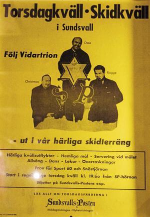 1947 startade föreningen skidutflykter på kvällen till Hulistugan och andra ställen i samspel med Sundsvalls Posten. Det bjöds också på allsång och dans vid dessa utflykter.