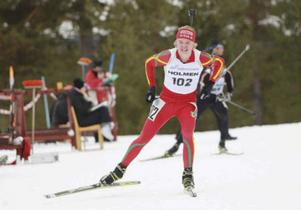 Markus Stenberg (Svegs IK) är en av de som blev uttagna till Junior-VM i Rumänien.