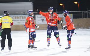 Christian Mickelsson och Patrik Nilsson fick jubla på Sävstaås.