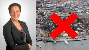 Lotta Olsson (M) från Örebro vill utreda möjligheten om vi ska skaffa en annan huvudstad.