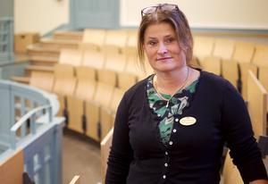Sofia Nordell Kvarnebrink, rektor på Vasaskolan.