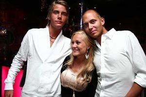 Silk. Vincent, Fia och George