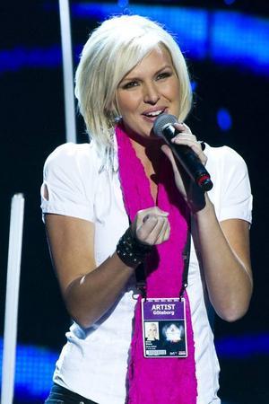 """Rutinerad. Sanna Nielsen tävlar i Melodifestivalen för sjätte gången i år.""""Min målsättning är att göra ett så bra nummer som möjligt och förmedla känslan till tittarna"""", säger hon."""