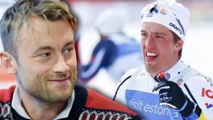 Petter Northug och Calle Halfvarsson fortsätter att skicka gliringar mot varandra.