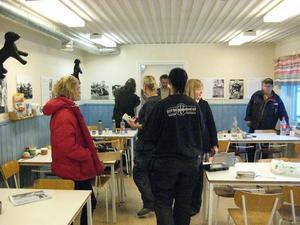 I Strömsund saknar de anställda på Betongelement sin väggklocka och almanackor mest. Foto: Magnus Boman