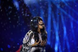 Loreen ställer upp i Melodifestivalen 2017. Arkivild.