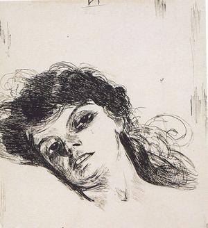 ... och Frida Kahlos teckning efter Zorns förlaga.