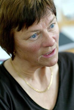 Eva Olsson, avdelningschef på BUP i Östersund, är nöjd över att väntetiden förkortas från 90 till 30 dagar.Foto: Ulrika andersson