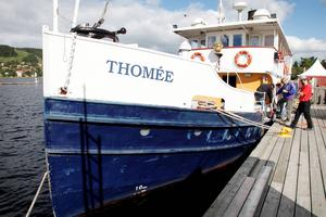 Ångbåten Thomée, sommaren 2012.