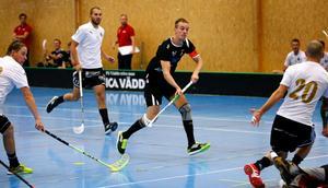 Albin Nordstrand var poängbäst i Roslagen med sina två mål och fyra assist.