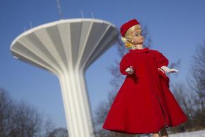 I boken Barbie älskar Sverige har den ikoniska dockan blivit fotograferad framför flera typiska närkingska vyer, som Svampen...