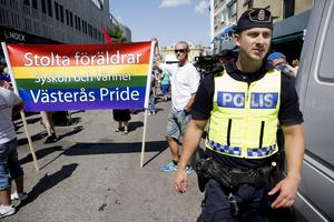 Snart dags igen. Bild från Västerås Pride 2013.