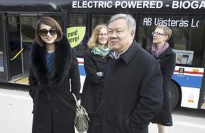 Vice borgmästare Li Zhanguo i Jinan.