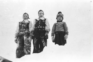 De norska kungabarnen.