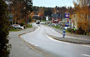 Norra Borgsjövägen skulle må bra av en ansiktslyftning, anser en nyinflyttad Ångebo.