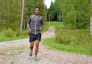 Snabb talang. För ett år sedan började Haben Kidane springa för Hällefors löparklubb. På SM förra månaden sprang han tre kilometer på lite drygt nio minuter, vilket gav honom en femteplats i P17.