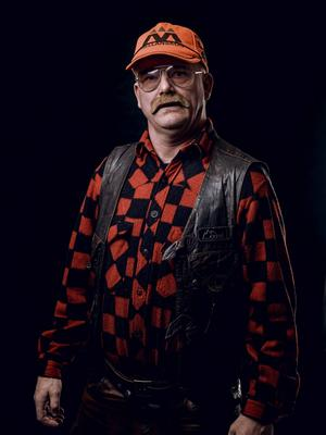 En av karraktärerna Örjan Bengtsfors.    Foto: Gabriel Liljevall