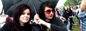 Bild från Seaside 2010. Nu finns ingen risk för regn på festivalen längre.