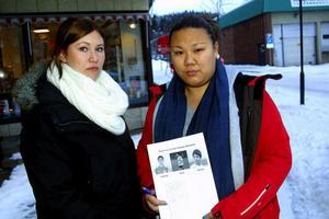 22cfcbdca411 Elin Näslund och Jeanette Reiser samlade in namnunderskrifter för att deras  kamrater ska få komma tillbaka
