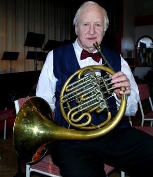 Jubileumsdag. Rune Fjällman har spelat på 1:a maj i 60 år.