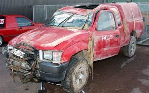 Den här bilen stal 29-åringen vid Källviksbacken i Falun  för att senare kvadda den i Torsång. för det åtalas han för försök till stöld, biltillgrepp, smitning och narkotikabrott