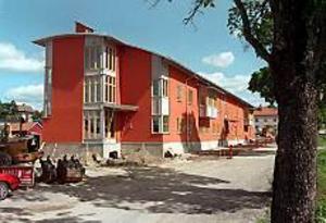 Arkivbild Utbyggnad. Sandvikens kommun planerar redan för mer verksamhet vid Sandbacka Park. Här efter första etappen.