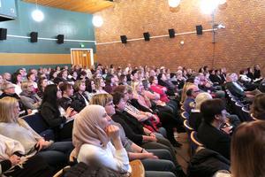 All personal i Laxå kommun som arbetar med barn och ungdomar bjöds på måndagen in till ett stort seminarium om rasism.