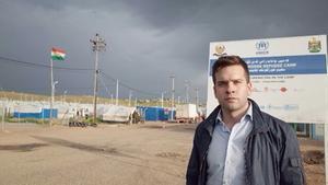 Gabriel Wikström och andra i SSU:s ledning har nyligen åkt till flyktinglägret Kawergosk Refugee Camp utanför Erbil i irakiska Kurdistan. Besöket kommer mynna ut i en rapport, som Wikström tror kommer tas upp i det lokala systerpartiet PUK:s styrelse. Det tror han kan gynna flyktinglägret.