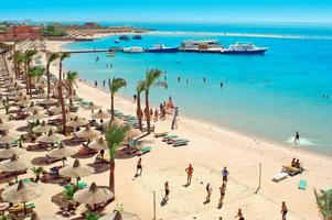 Turismen till Egypten kommer igång efter årsskiftet.