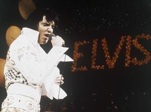 Elvis Presley 1972.