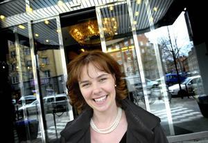 Boston Powers vd Christina  Lampe-Önnerud är imponerad över mottagandet i Gävle.