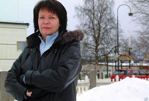 """""""Att få jobba mot 30 chefer känns inspirerande"""", säger Karin Holmin som inte tvekade för en sekund när hon erbjöds jobbet som verksamhetschef i Sundsvall.Foto: Jennie Lie Kjörnsberg"""